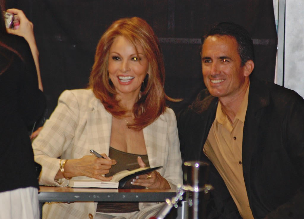 Hollywood icon Raquel Welch visits La Jolla