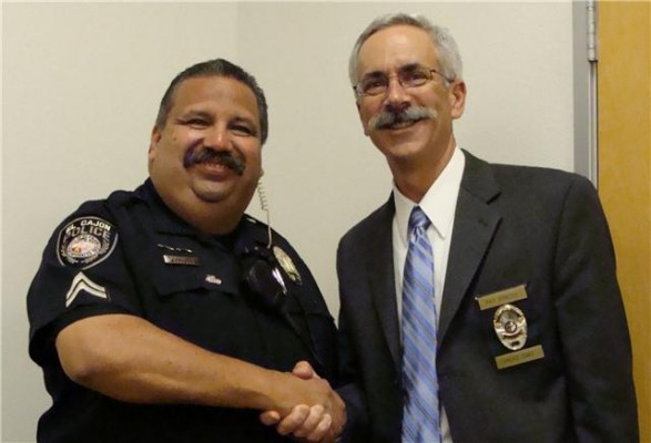 Decorated officer retires