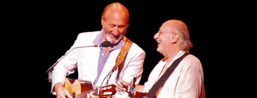 Folk singers Peter & Paul to perform at Birch Aquarium at Scripps