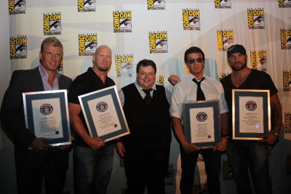 Guinness World Records® honors biggest names in entertainment at Comic-Con