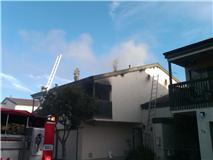 Fire damages La Mesa apartment
