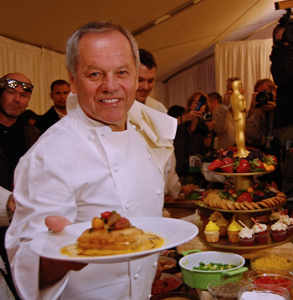 Wolfgang Puck create 2011 Governors Ball menu