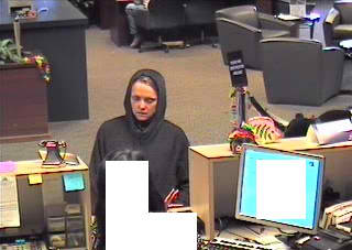 FBI, police seek identity of unknown  female bank robber