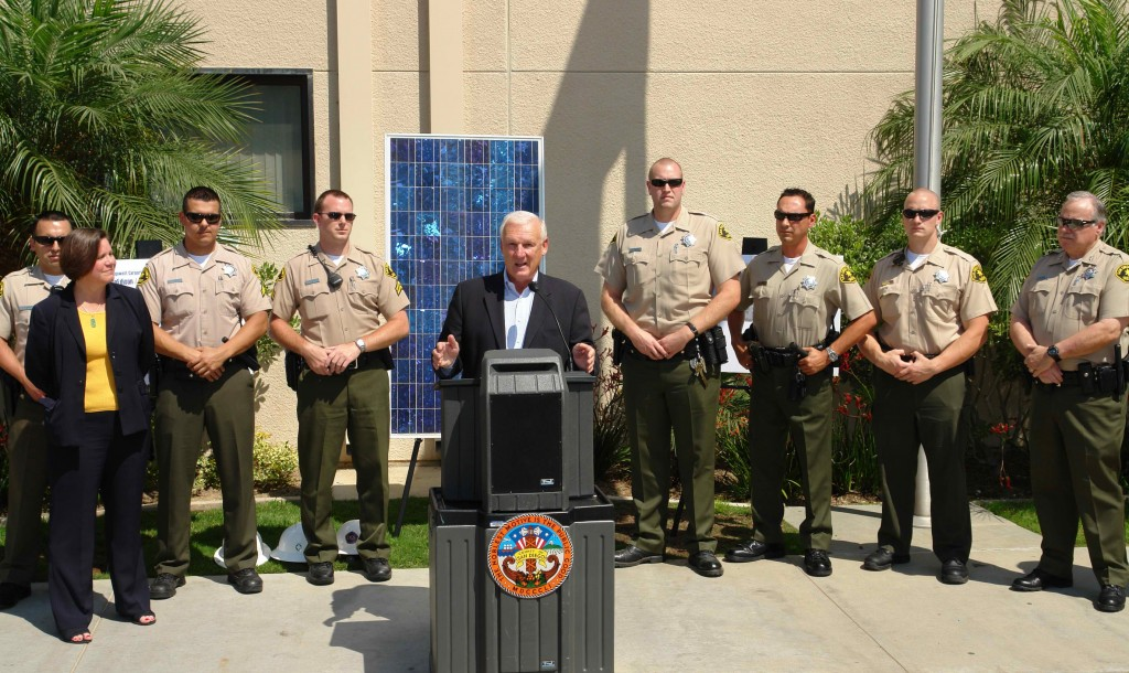 County jail  doubles as clean energy power station