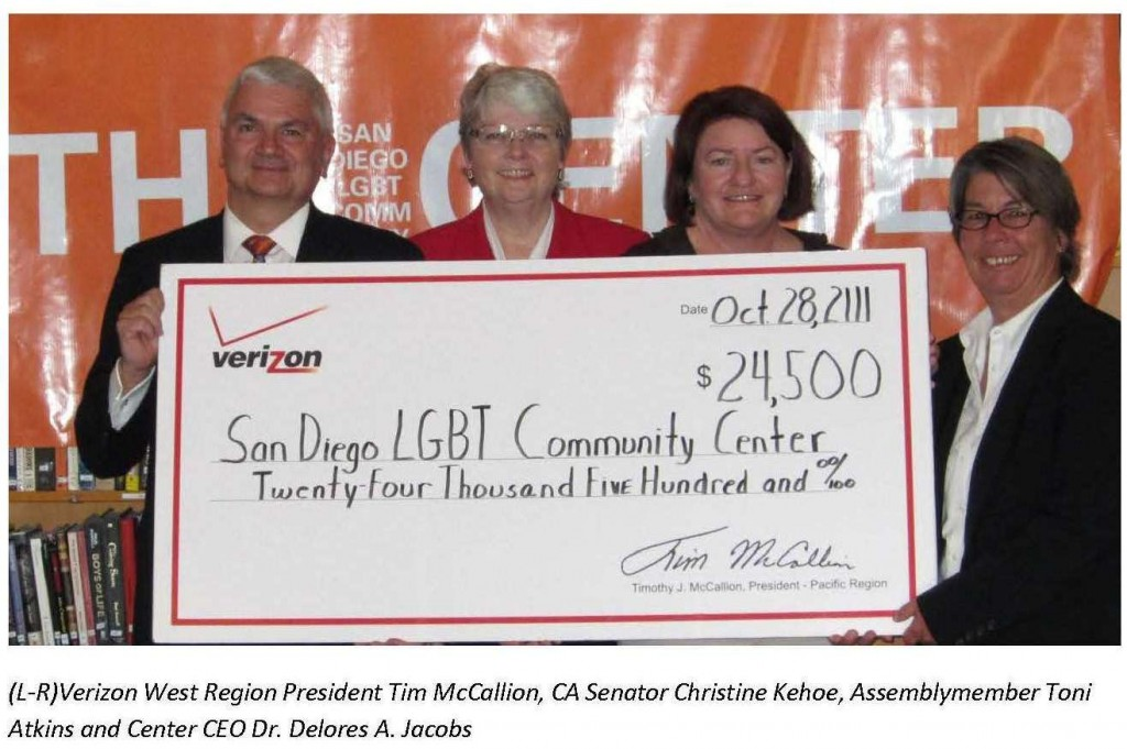 LGBT Center receives $25,000 grant to raise awareness of intimate partner violence‏
