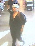 Female suspect wanted for commercial burglary