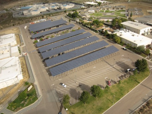 Solar power station switched on at county jail