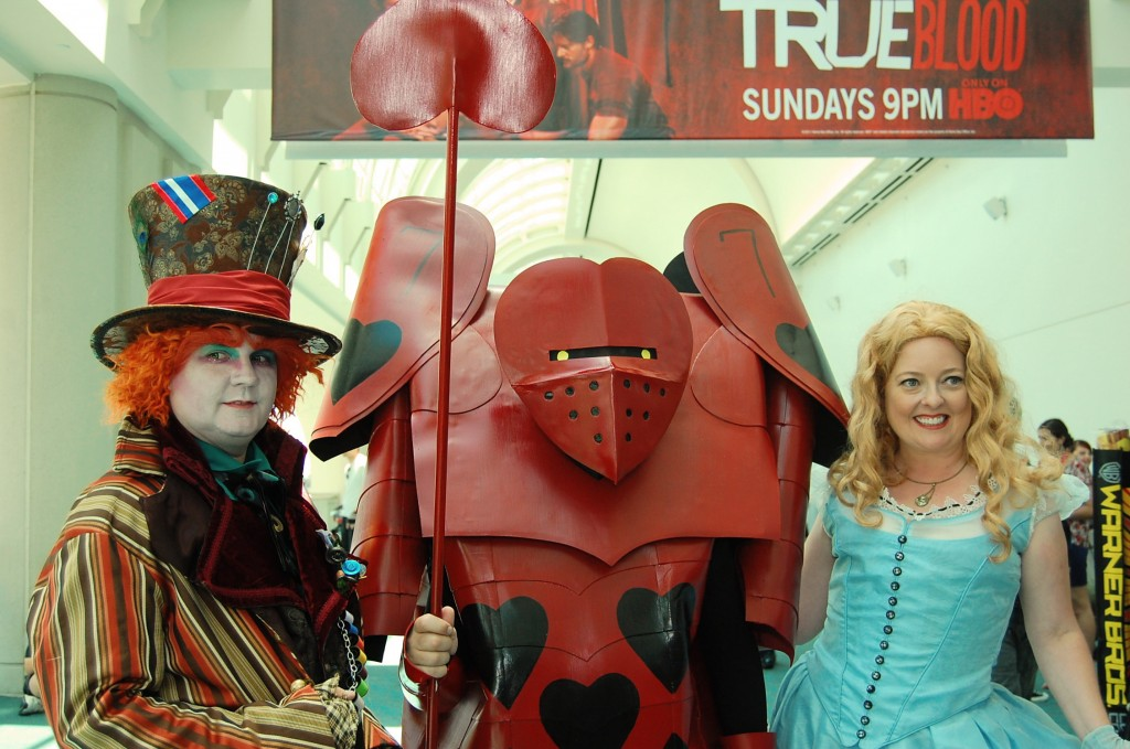 Comic-con attendees show appreciation of favorite characters