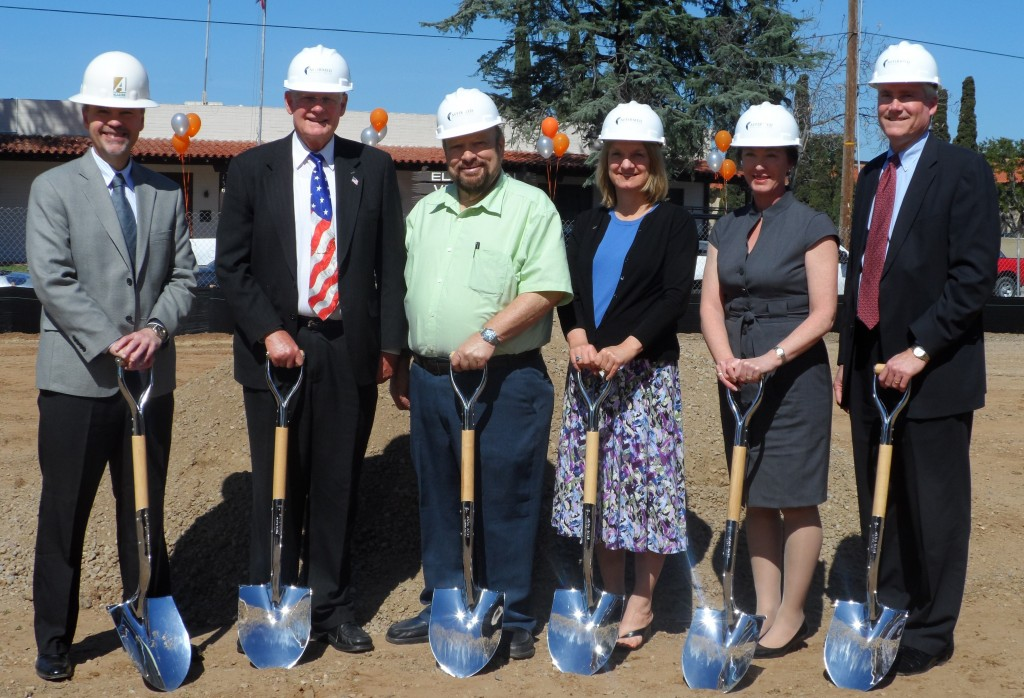 El Cajon city leaders break ground on senior housing project