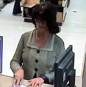 FBI Seeks Identity of Female Bank Robber