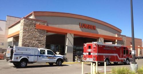 Home Depot Evacuated In El Cajon