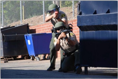 Sheriff's Department Conducts Active Shooter Training