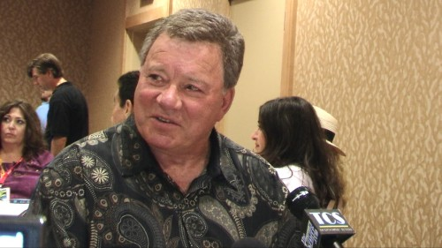 "William Shatner attends Comic-Con to promotes his new EPIX original documentary ""Get A Life."" Photo: Gina Yarbrough"