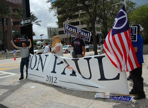 Ron Paul Brigade Plays Spoiler At Mitt Romney's Coronation Convention In Tampa and Other Convention Notes