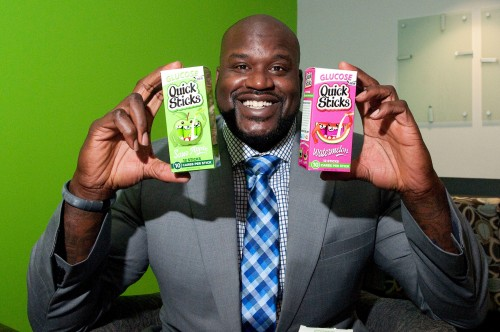 "Shaquille O'Neal ""Sticks It"" to Diabetes"