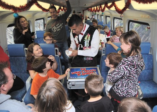 Santa's Coaster Express Raises Over $7,500 For Local Charities