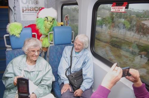 Santa's Coaster Express Brings Holiday Cheer To Families