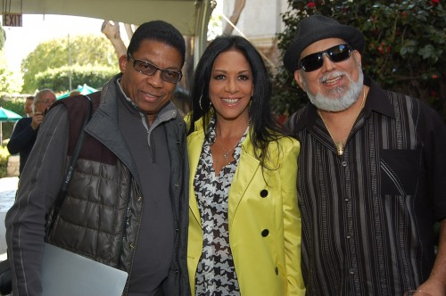From left, Herbie Hancock, Sheila E., and Poncho Sanchez. Photo: Gina Yarbrough/San Diego County News
