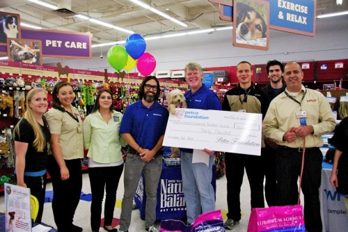 Rancho Coastal Humane Society Receives $30,000 Grant From Petco Foundation