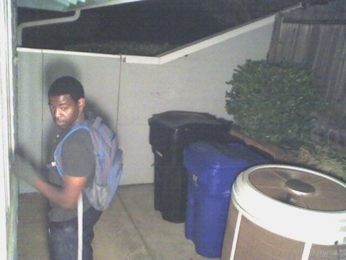 Unknown Suspect Wanted For Questioning In A Burglary