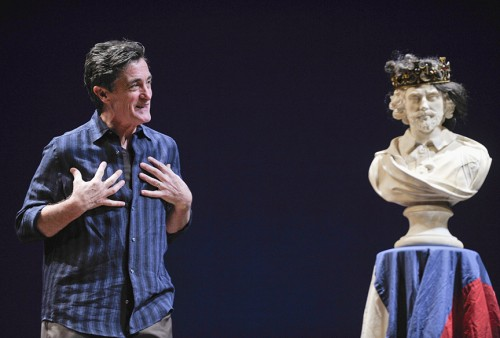 Tony Award winner Roger Rees returns to The Old Globe Monday, April 28 at 7:00 p.m. to present his one-man Shakespeare tour-de-force What You Will. Photo by David Allen.