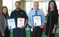 County Fire Authority Honored For Fire Prevention Work