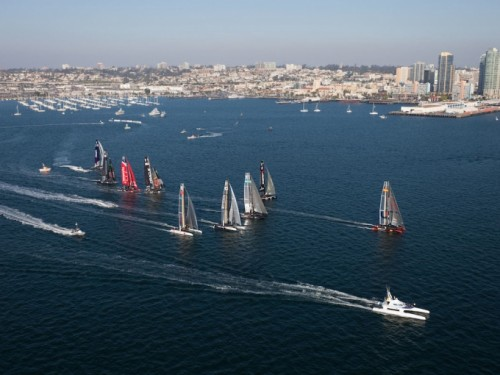 San Diego is on the shortlist for America's Cup.