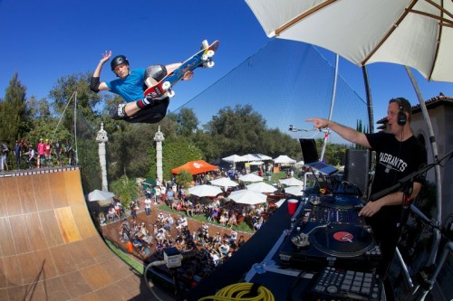 Tony Hawk And Friends Celebrate 11th Annual Stand Up For Skateparks Benefit