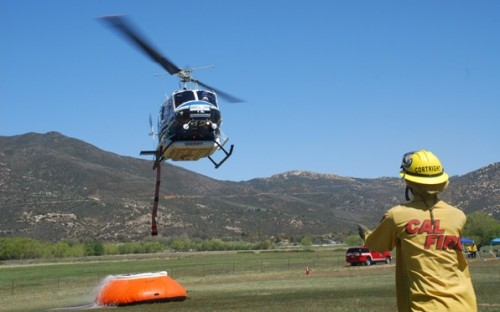 County adds third helicopter prior to peak fire season.