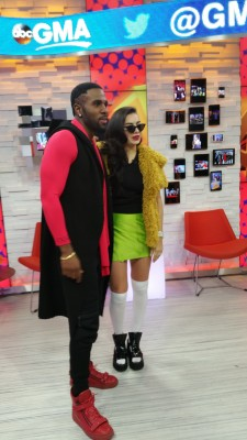 "Music superstars Jason Derulo and Charli XCX announced the nominees of the 2014 American Music Awards live on ABC's ""Good Morning America"" on Monday."