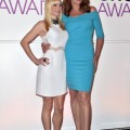 Actors Anna Faris and Allison Janney attend the People's Choice Awards 2015 Nominations Press Conference at The Paley Center for Media on November 4 in Beverly Hills, California. (Photo by Kevin Winter/Getty Images for The People's Choice Awards)