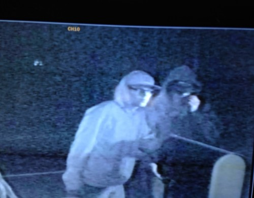 Sheriff's Deputies Search For Suspects In Vandalism Of Lakeside Home