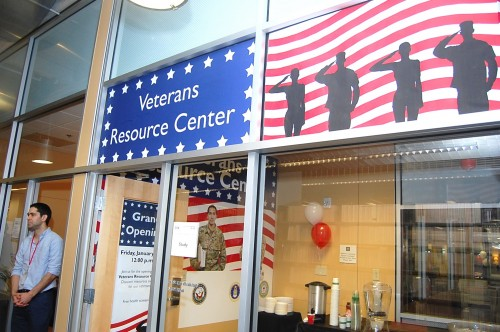 Veteran Resource Center Opens At San Diego Library