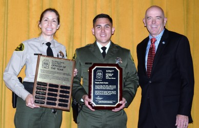 Law Enforcement Officers Honored At Auto Theft Recovery Awards