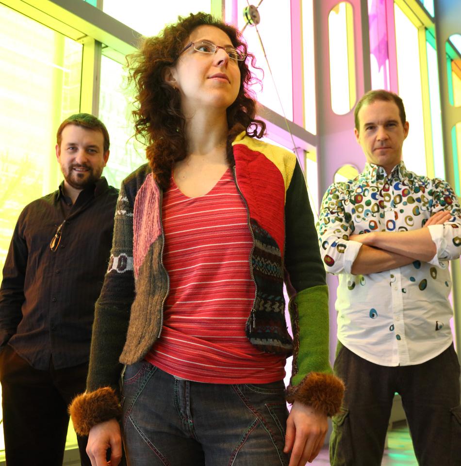 Quebec-based Marianne Trudel Trifolia trio