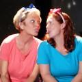 Parallel Lives features Rhiannon Jones (l) and Sandy Hotchkiss (r).