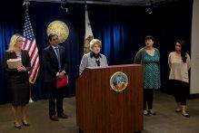 District Attorney Bonnie Dumanis.