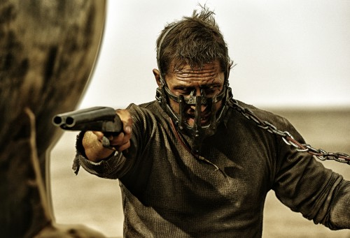 "Tom Hardy as Max Rockatansky in Warner Bros. Pictures' and Village Roadshow Pictures' action adventure ""Mad Max: Fury Road,"" a Warner Bros. Pictures release.  Photo: Jasin Boland"