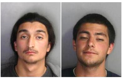 From left, suspects Lucas