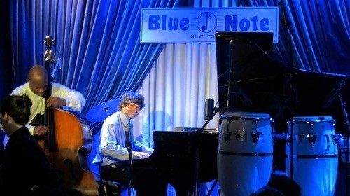 The Joe Alterman Trio at the Blue Note Jazz Club in New York City.
