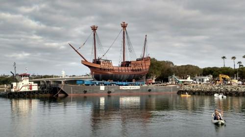 Maritime Museum Launch Replica Of San Salvador