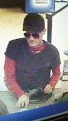 Unindentified bank robber.