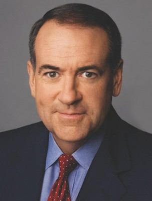 GOP Presidential Candidate Arkansas Gov. Mike Huckabee.