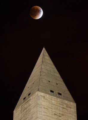 Supermoon Total Eclipse In D.C.