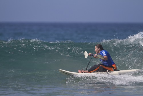 Adaptive Surfing Athletes Take To The Water On First Day Of Competition