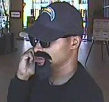 FBI, Police Search For Mission Federal Credit Union Robber