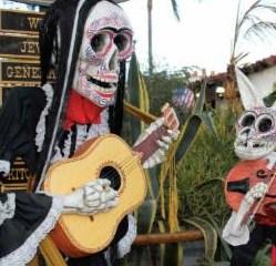 Old Town San Diego Celebrates Dia de los Muertos