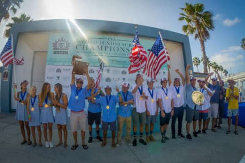 USA Team Wins World Championship At Surfing Competition