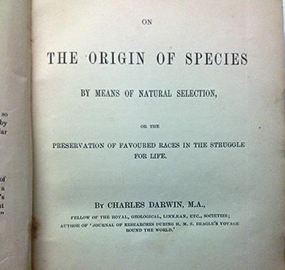 ICE Returns Stolen Charles Darwin Book To Owner