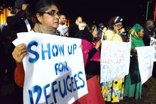 Supporters Hold Rally For Immigrants, Refugees